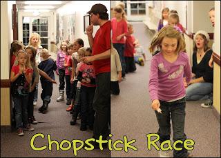 Chopsticks race